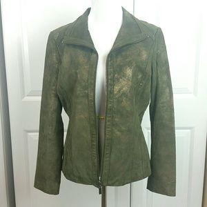 Bernardo Genuine Leather Jacket | sz S